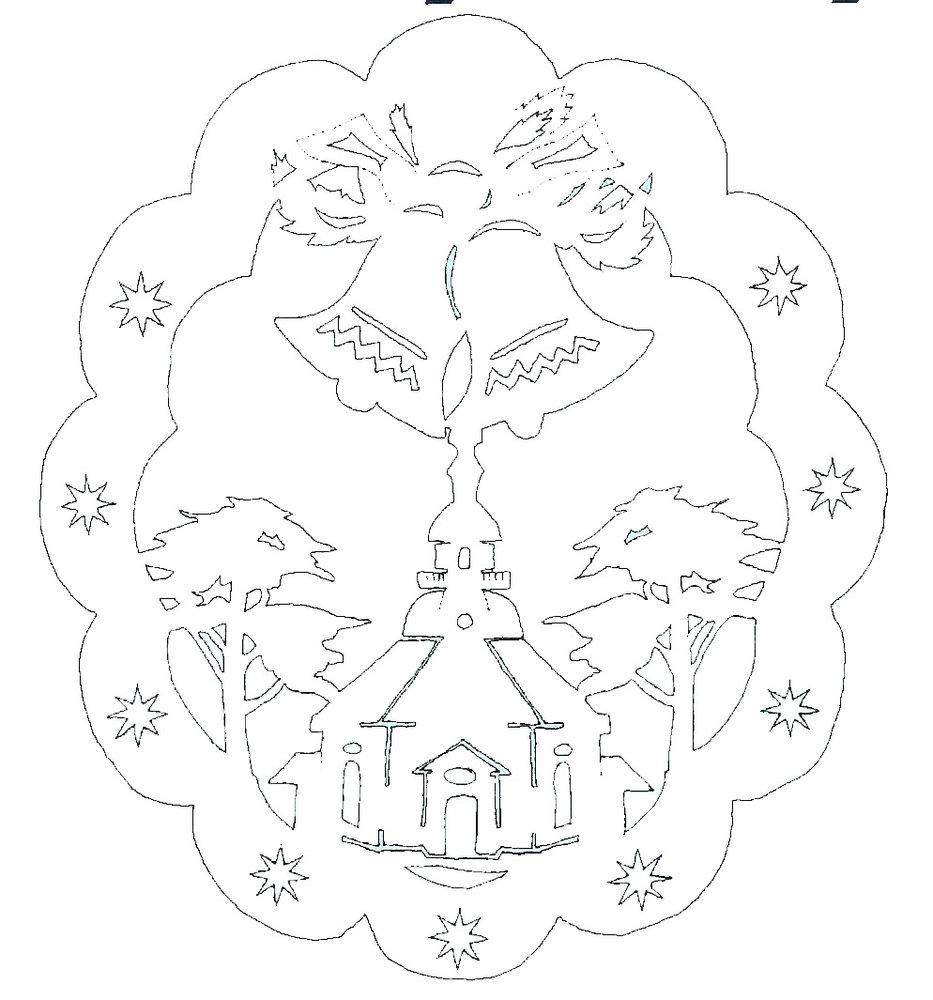 Basteln Glocken Malvorlagen Weihnachtsglocken