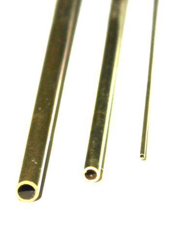 Messingrohr 1,3 x 0,2 mm